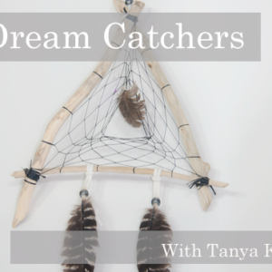 tanya keech, dream catcher workshop, indigenous women's arts conference, pass the feather. aboriginal arts Collective of canada