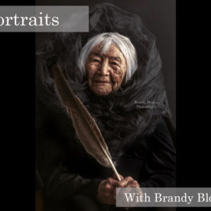 brandy bloxom photography, portrait workshop, indigenous women's arts conference, pass the feather. aboriginal arts Collective of canada